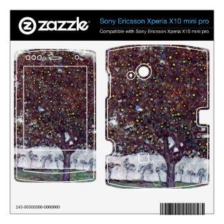 The Apple Tree by Gustav Klimt Xperia X10 Skin