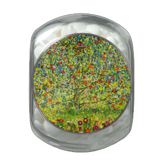 The Apple Tree Glass Candy Jars