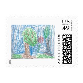 The Apple Tree Stamp