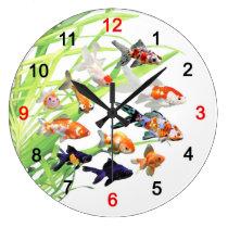 The applying clock of Goldfish