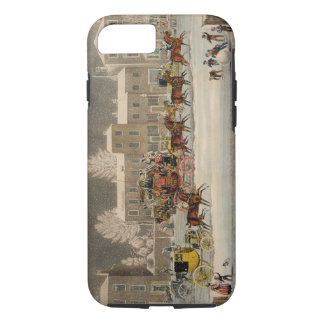 The Approach to Christmas, engraved by George Hunt iPhone 8/7 Case