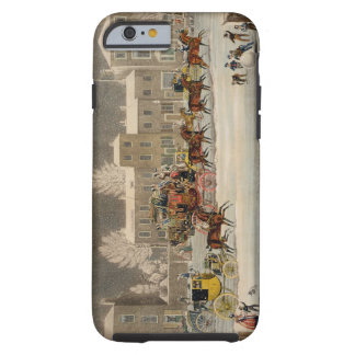 The Approach to Christmas engraved by George Hunt iPhone 6 Case