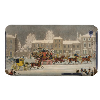The Approach to Christmas, engraved by George Hunt iPod Touch Cover
