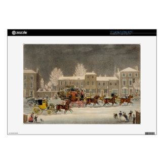 The Approach to Christmas, engraved by George Hunt Laptop Decal