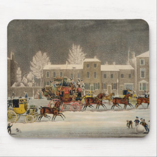 The Approach to Christmas, engraved by George Hunt Mousepad