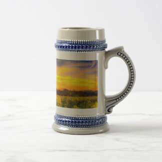 The April Farm Art Beer Stein