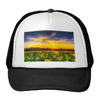 The April Farm Art Trucker Hat