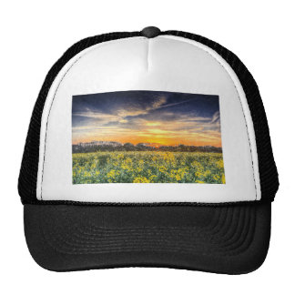 The April Farm Snow Art Trucker Hat