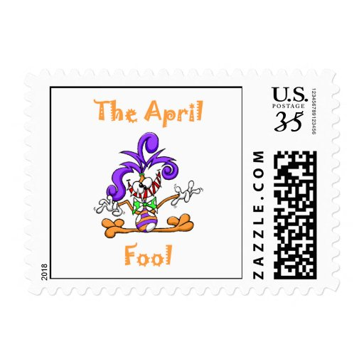 The April Fool Postage Stamps