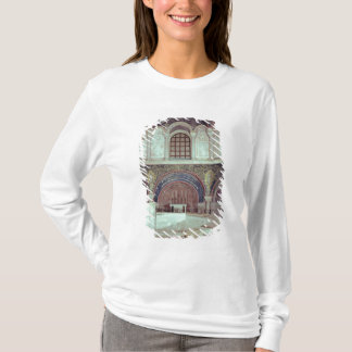The apse with the baptismal font T-Shirt