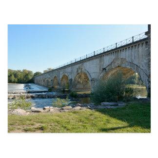 The aqueduct at Guetin Postcards