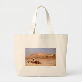 The Arab And His Steed Tote Bags