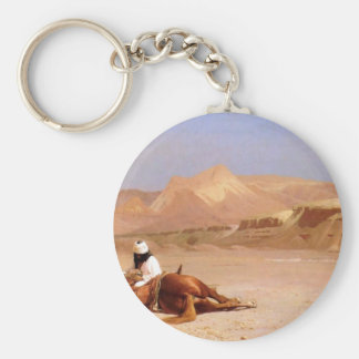 The Arab And His Steed Keychain