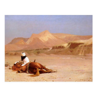 The Arab And His Steed Postcard