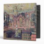 The Arabian Hall in the Catherine Palace 0 3 Ring Binder