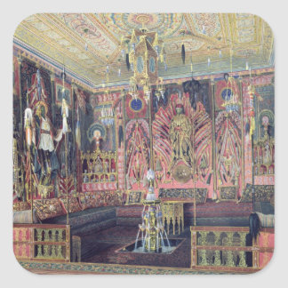 The Arabian Hall in the Catherine Palace 0 Square Sticker