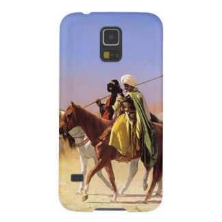 The Arabian person who crosses the desert Galaxy S5 Cover
