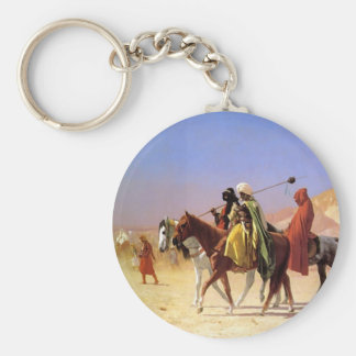 The Arabian person who crosses the desert Keychains