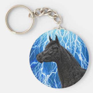 The Arabian Stallion Keychain