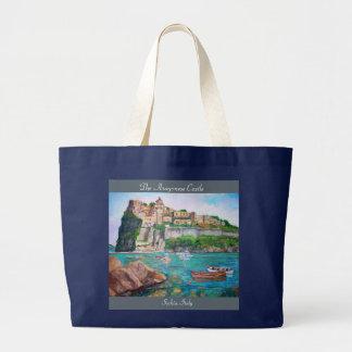 The Aragonese Castle - Jumbo Tote Bag