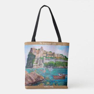 The Aragonese Castle of Ischia - Tote Bag