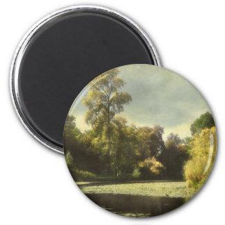 The Arboretum 2 Inch Round Magnet