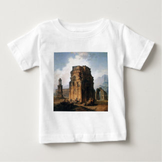 The Arc de Triomphe and the Theatre of Orange Baby T-Shirt