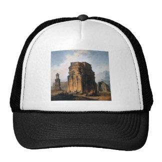 The Arc de Triomphe and the Theatre of Orange Trucker Hat