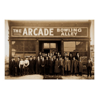 The Arcade Bowling Alley Poster