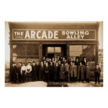 The Arcade Bowling Alley Posters