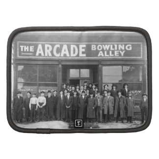 The Arcade Bowling Alley Vintage Saloon Planners