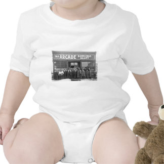 The Arcade Bowling Alley Vintage Saloon Romper