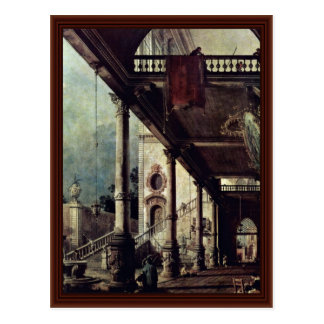 The Arcade By Canaletto Post Cards