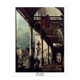 The Arcade By Canaletto Postcards