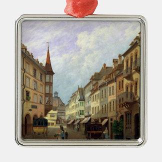 The Arcades, Grand Rue, Colmar, 1876 Christmas Ornament