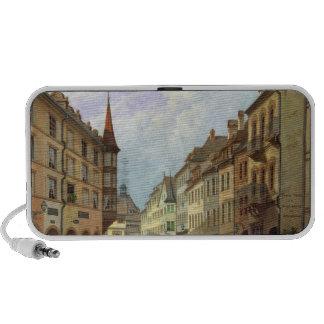 The Arcades, Grand Rue, Colmar, 1876 PC Speakers