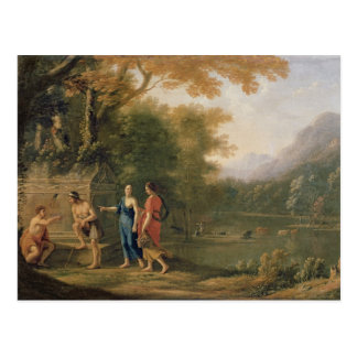The Arcadian Shepherds Postcard