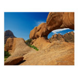 the arch at Spitzkoppe or Spitzkuppe, arid Postcard