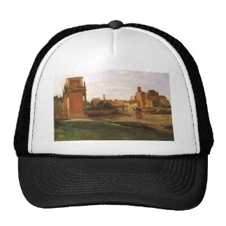The Arch of Constantine and the Forum, Rome Trucker Hat