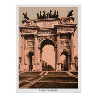 The Arch of Peace, Milan, Italy Print