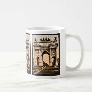 The Arch of Peace, Milan, Italy vintage Photochrom Mug