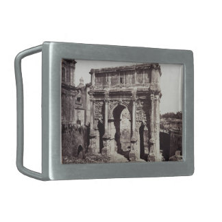 The Arch Of Septimius Severus Belt Buckle