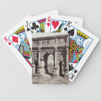 The Arch Of Septimius Severus Bicycle Playing Cards