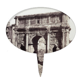The Arch Of Septimius Severus Cake Topper