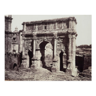 The Arch Of Septimius Severus Postcard