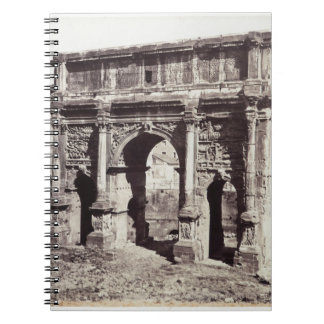 The Arch Of Septimius Severus Spiral Notebook