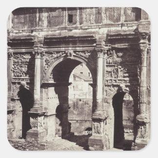 The Arch Of Septimius Severus Square Sticker