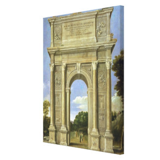 The Arch of Triumph Gallery Wrapped Canvas