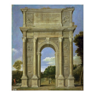 The Arch of Triumph Poster