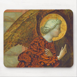 The Archangel Gabriel, c. 1430 (tempera on panel) Mouse Pad